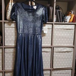 Lularoe NWT Amelia elegant dress size L